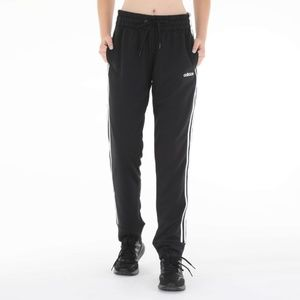 Adidas Womens 3-Stripe Joggers black